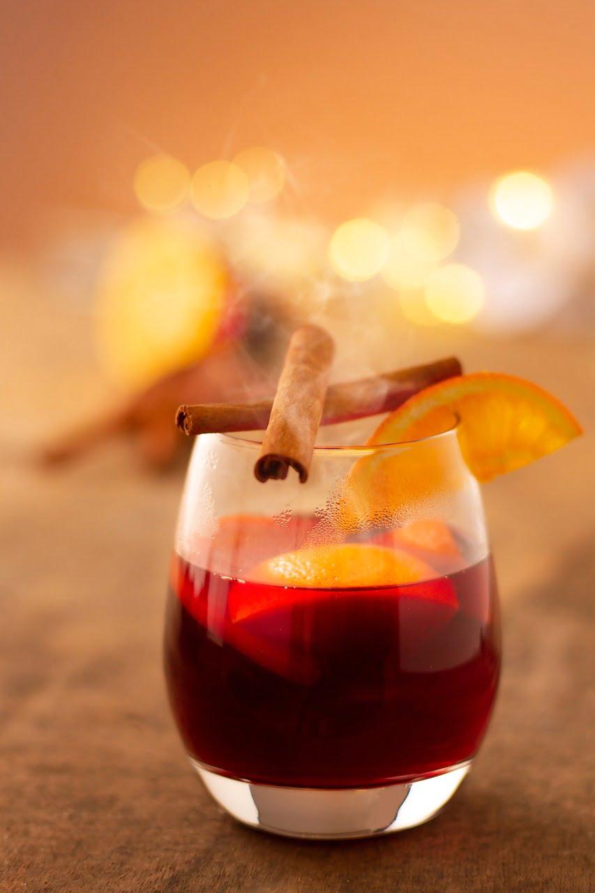 mulled wine christmas, drink, heiss